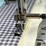 Pusinės ir užtrauktuko siuvimo pėdelės