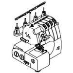 Apmėtymo mašinų (overlokų) priedai ir dalys