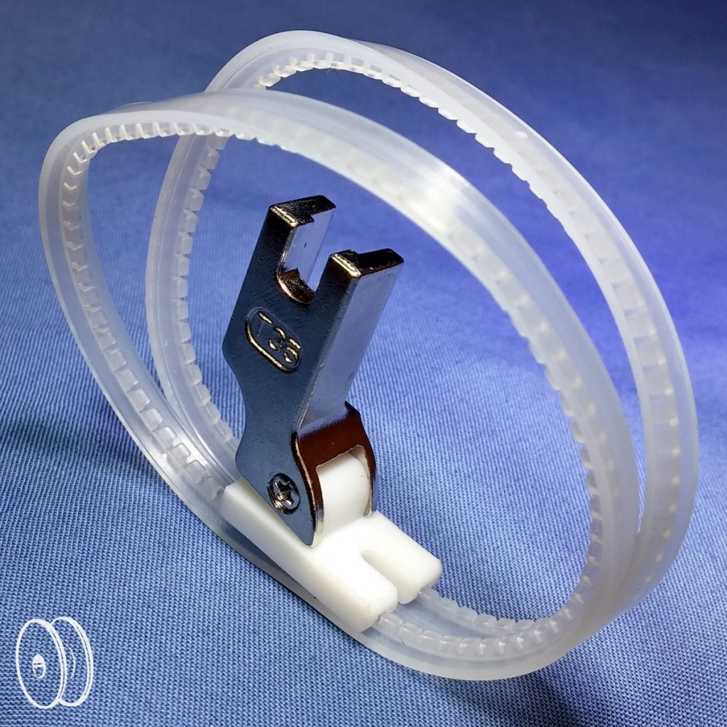 Tefloninės pėdelės su žiedais