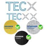 TECXX žirklės techniniams audiniams