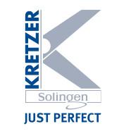 KRETZER (Solingenas, Vokietija) gamintojo žirklės